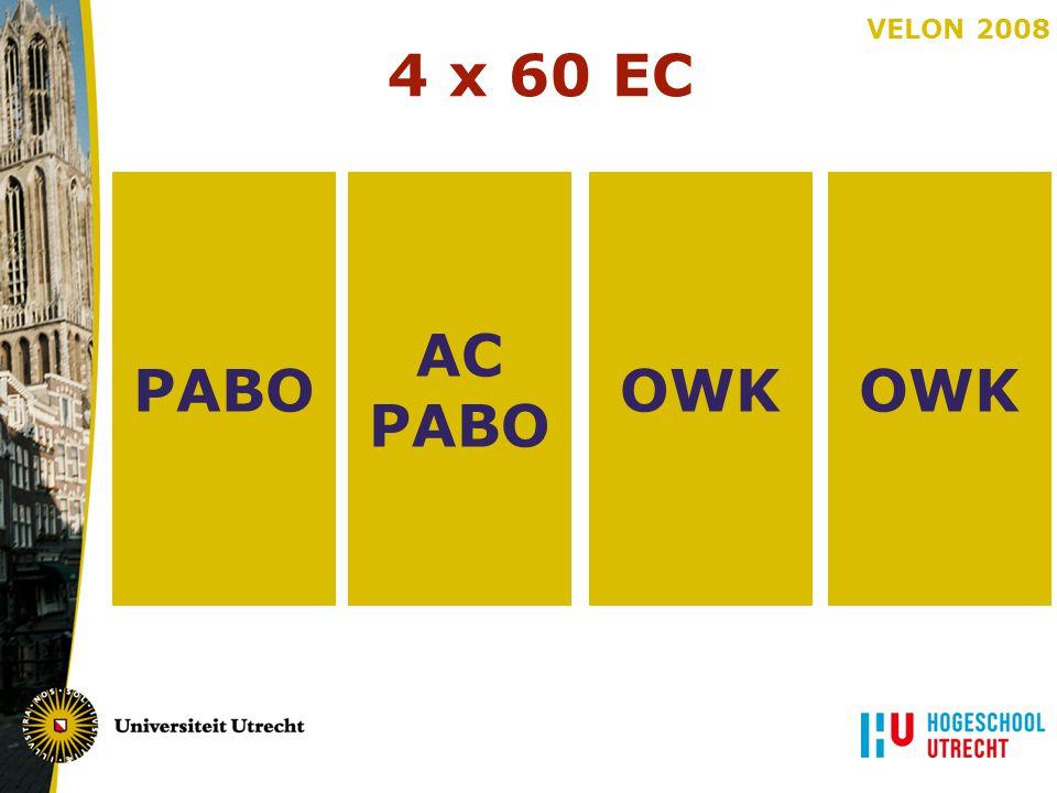 VELON 2008 OWK AC PABO 4 x 60 EC