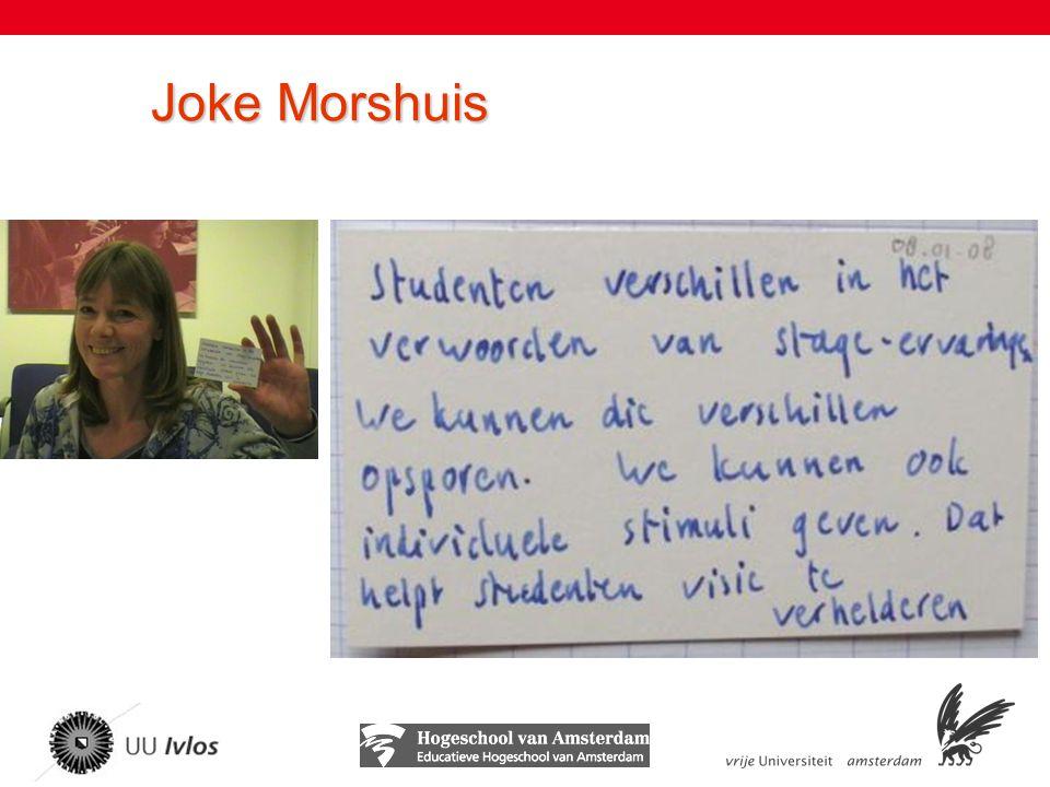 Joke Morshuis