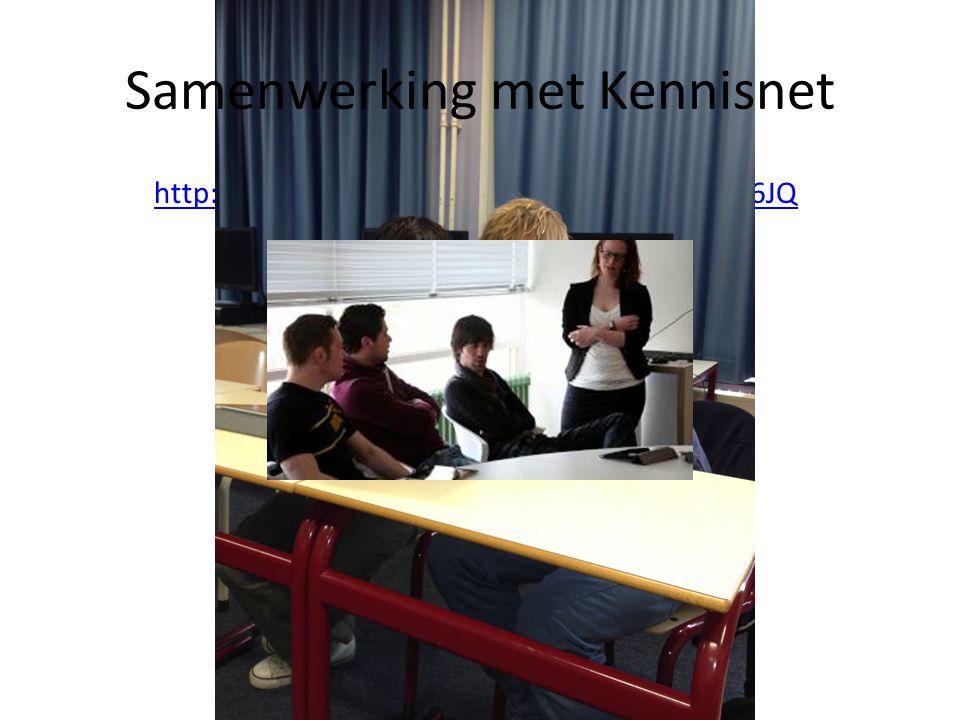 http://www.youtube.com/watch?v=0umfJ8YF6JQ Samenwerking met Kennisnet