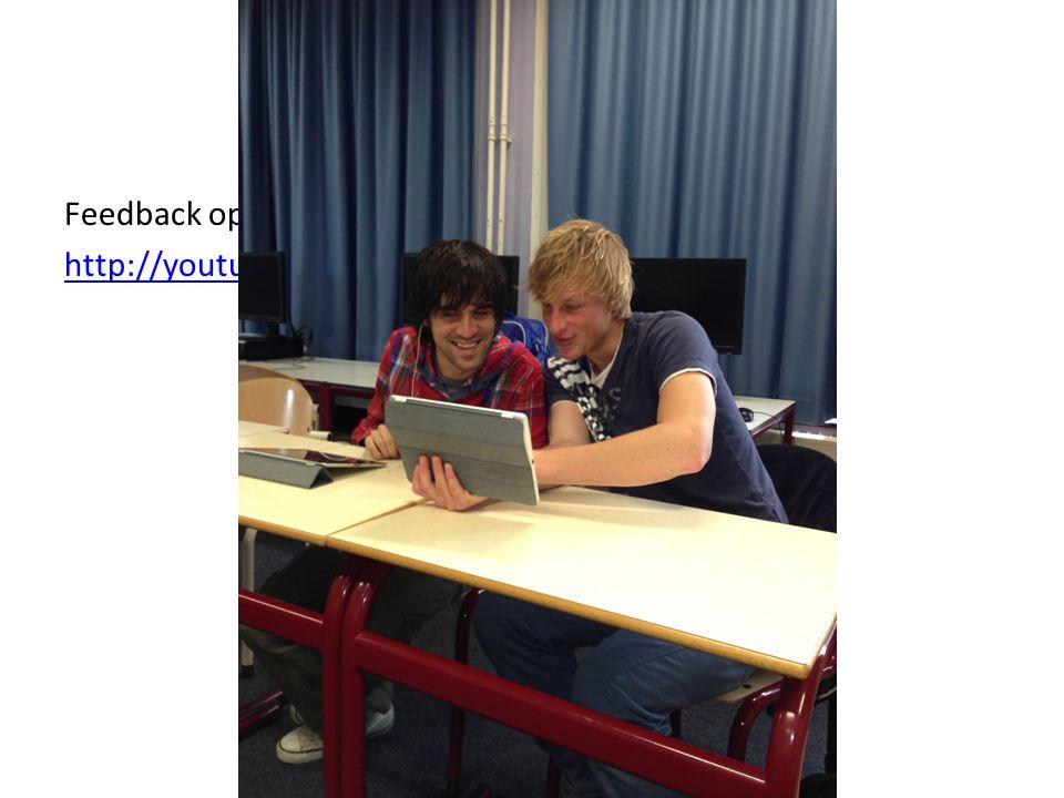 Microteaching Feedback op de voorbereiding: http://youtu.be/I-DEPQaB208