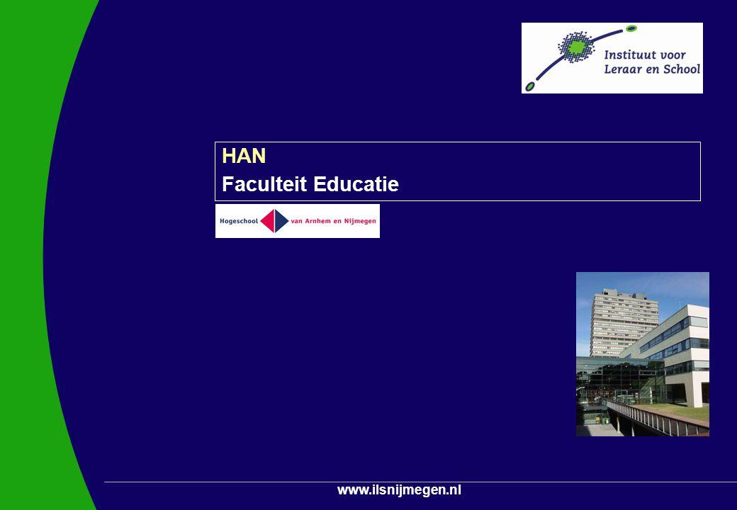 www.ilsnijmegen.nl HAN Faculteit Educatie