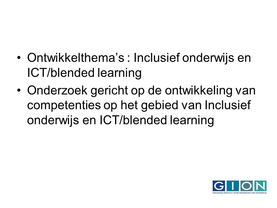 Het gehele onderzoek: Onderzoeksfase 1 (Juni 2007) : Bepalen beginsituatie van de leerkrachten.