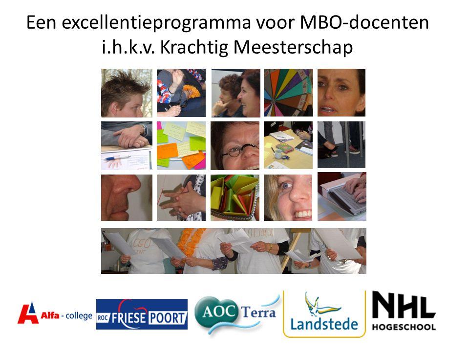 Een excellentieprogramma voor MBO-docenten i.h.k.v. Krachtig Meesterschap