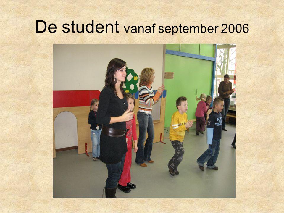 De student vanaf september 2006