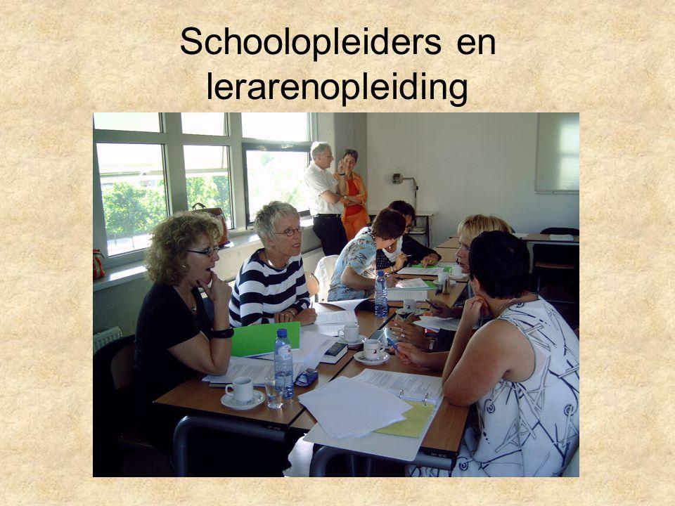Schoolopleiders en lerarenopleiding
