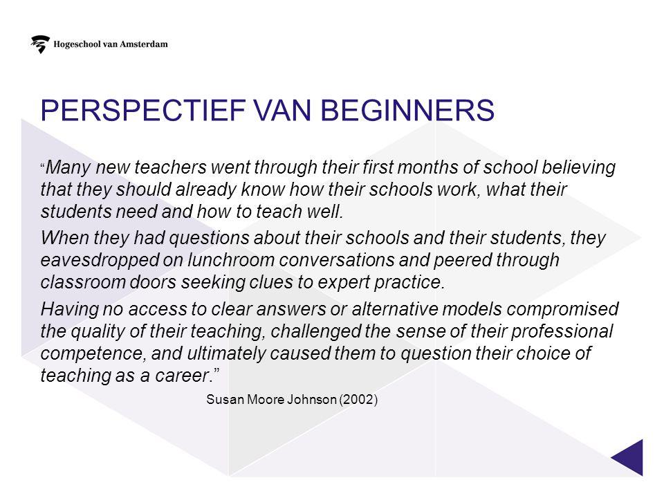 PERSPECTIEF VAN HET BEROEP 6 Pedagogsch-didactische vaardigheden van leraren uitgezet tegen het aantal jaren leservaring Van der Grift 2010 CPDITE