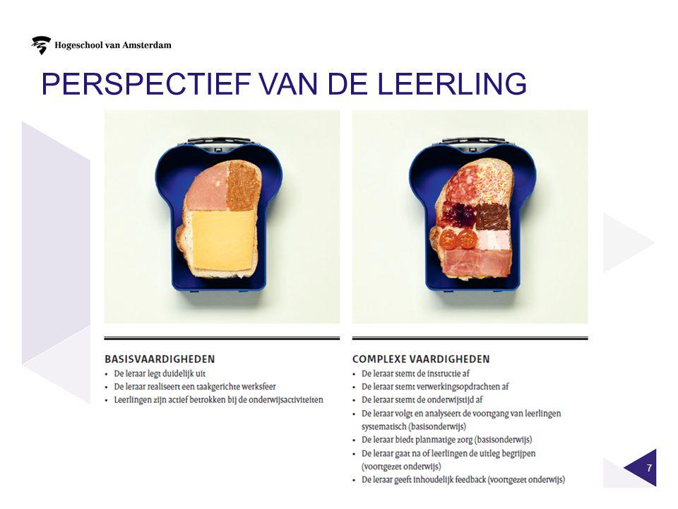 PERSPECTIEF VAN DE LEERLING 7