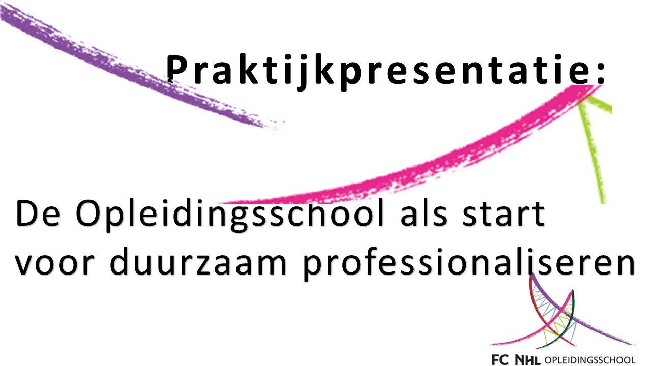 Praktijkpresentatie: De Opleidingsschool als start voor duurzaam professionaliseren