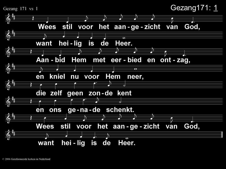 Gezang171: 1