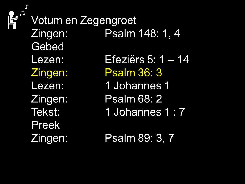 COLLECTE Vandaag is de collecte is voor de Kerk Na de collecte zingen we: Liedboek 462: 1, 2, 3, 4