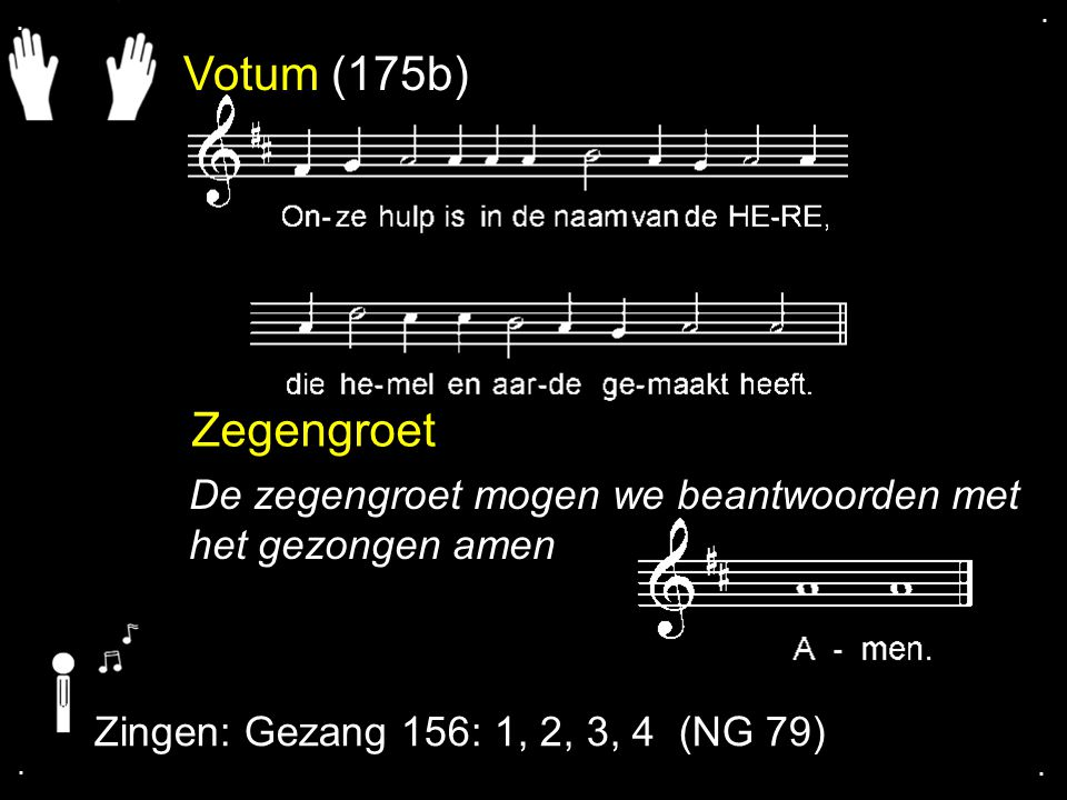 ... Gezang 55: 1, 2, 3, 4, 5 (NG 31)