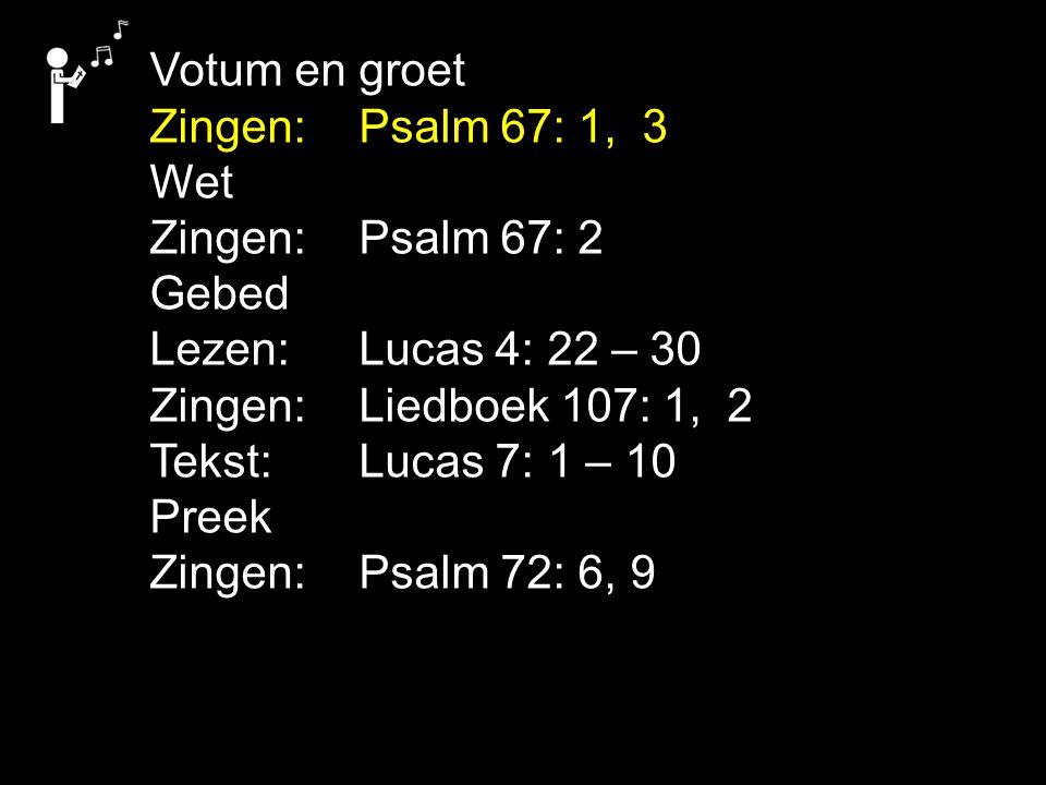 COLLECTE Vandaag de 1e collecte is voor de Evangelisatie de 2e collecte is voor de Kerk Na de collecte zingen we: Psalm 22: 13 Collectemunten nodig.