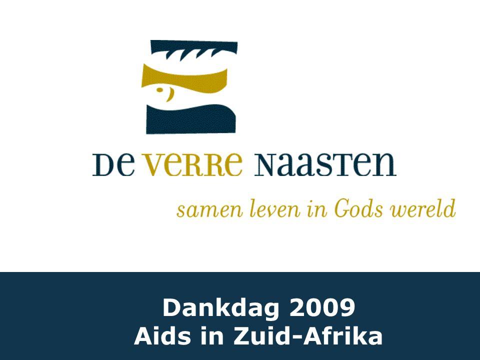 Dankdag 2009 Aids in Zuid-Afrika