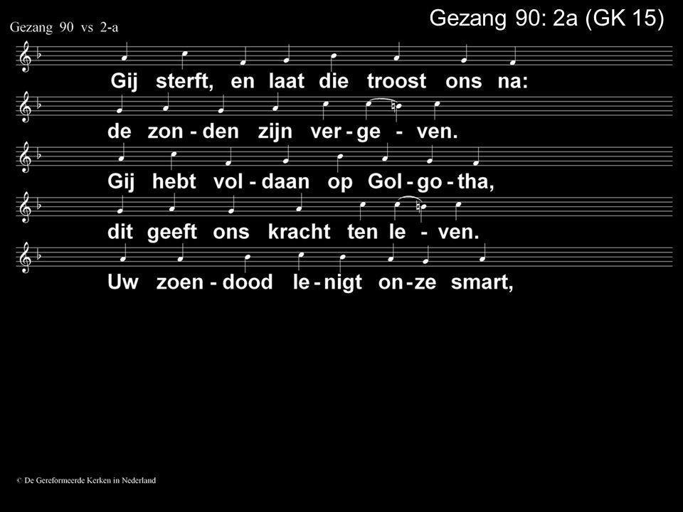 Liedboek 403: 1, 2, 4 melodie van GK 68 Nog één ding wil ik vragen Heer, ik vraag het vol vertouwen: wanneer de boze gaat te keer, laat mij uw hulp aanschouwen, dat ik niet val maar leven zal.