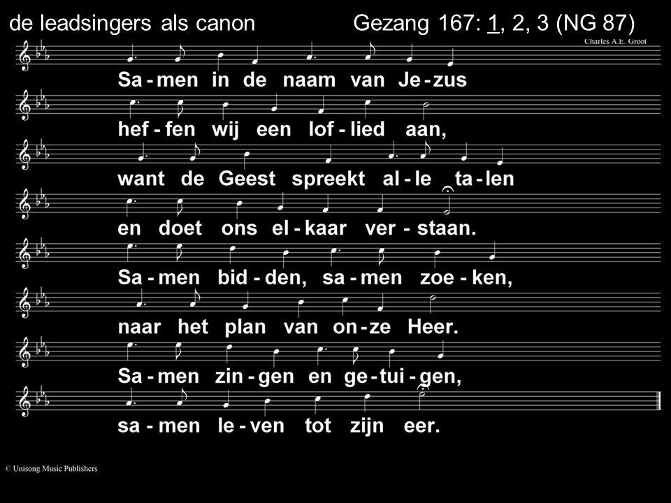 ... Liedboek 160: 1, 2