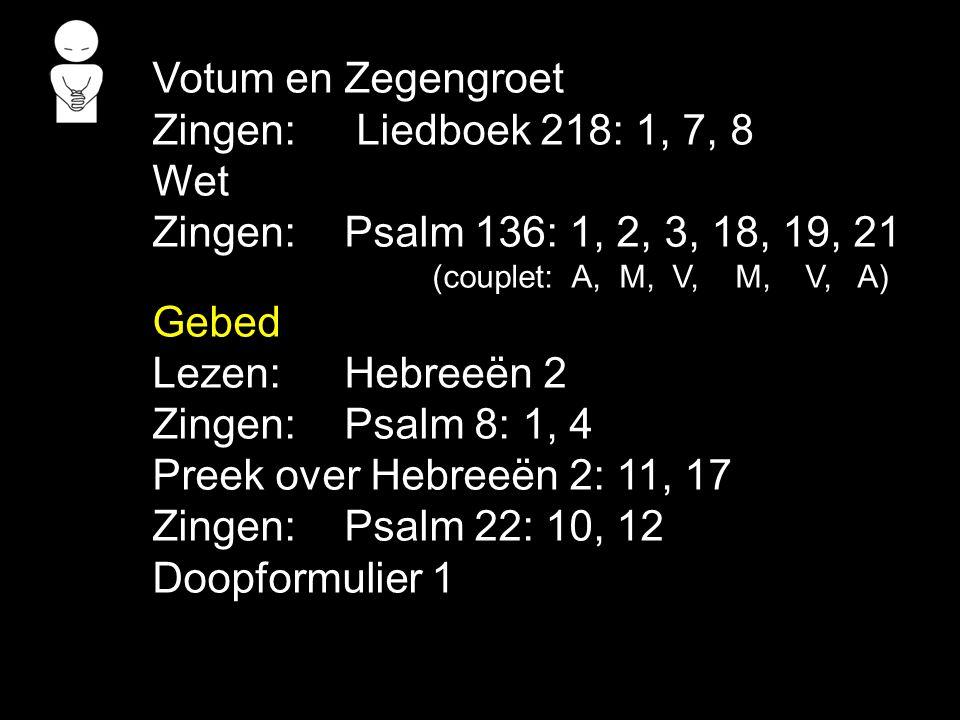 Gezang 124: 4, 5 (NG 64) Dat teken is een heilgeheim God wil met jou verbonden zijn.