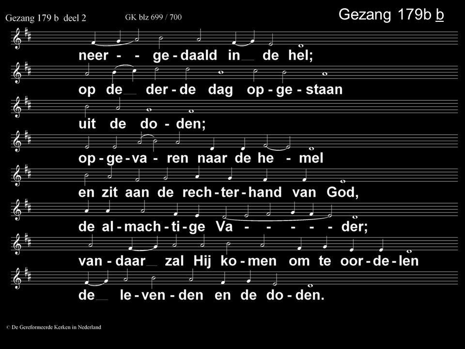 Gezang 179b b