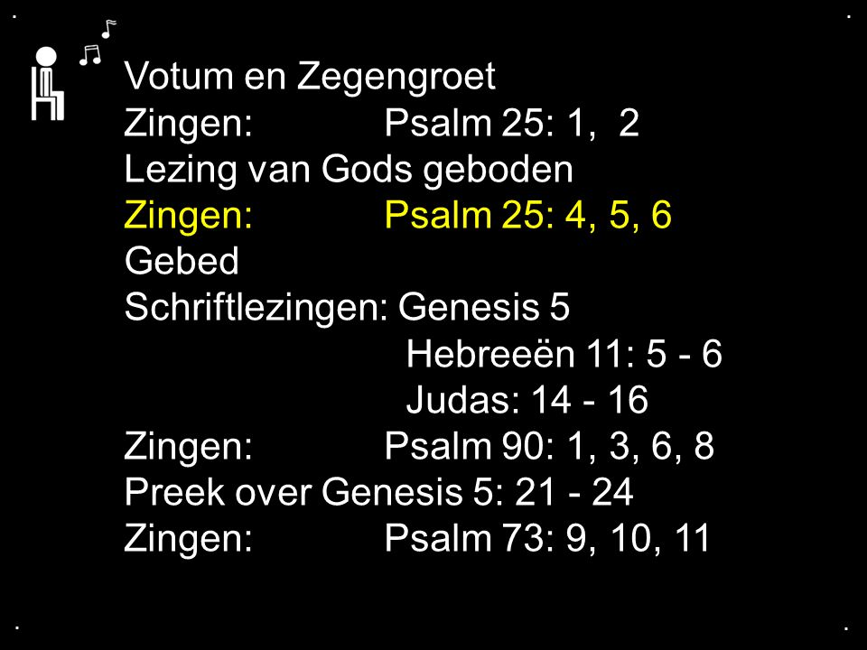 Psalm 25: 4, 5, 6