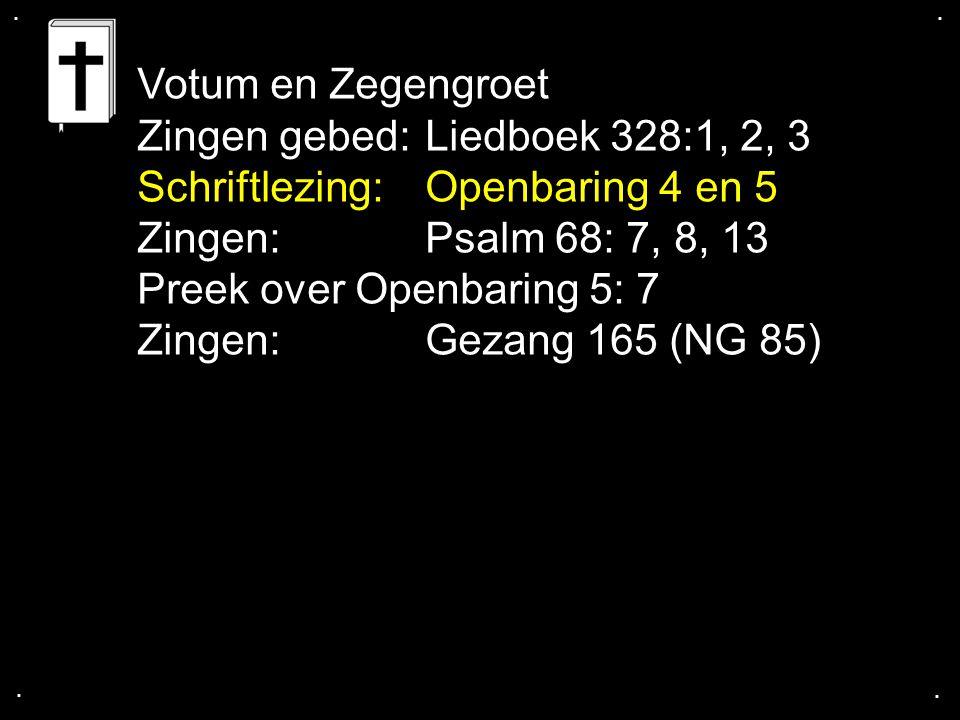 ... Gezang 165 b (NG 85)