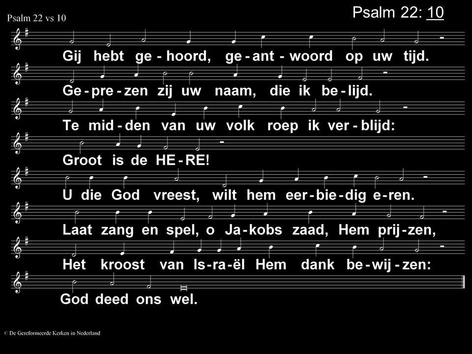 Psalm 22: 10