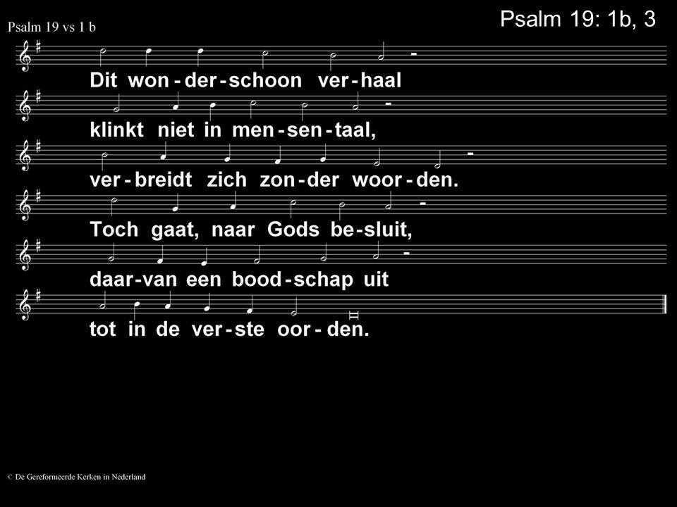 COLLECTE Volgende week Is de 1e collecte voor de Evangelisatie de 2e collecte is voor de Kerk Tijdens de collecte hoort u een deel van ps 22, versie Psalmen voor nu Na de collecte zingen we: Psalm 22: 10 Bloemenbezorging: Vandaag: Matthijs van Eijzeren Volgende week: Levien Wattel