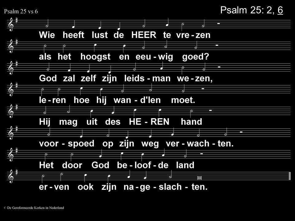 ... Liedboek 75: 13, 14, 15