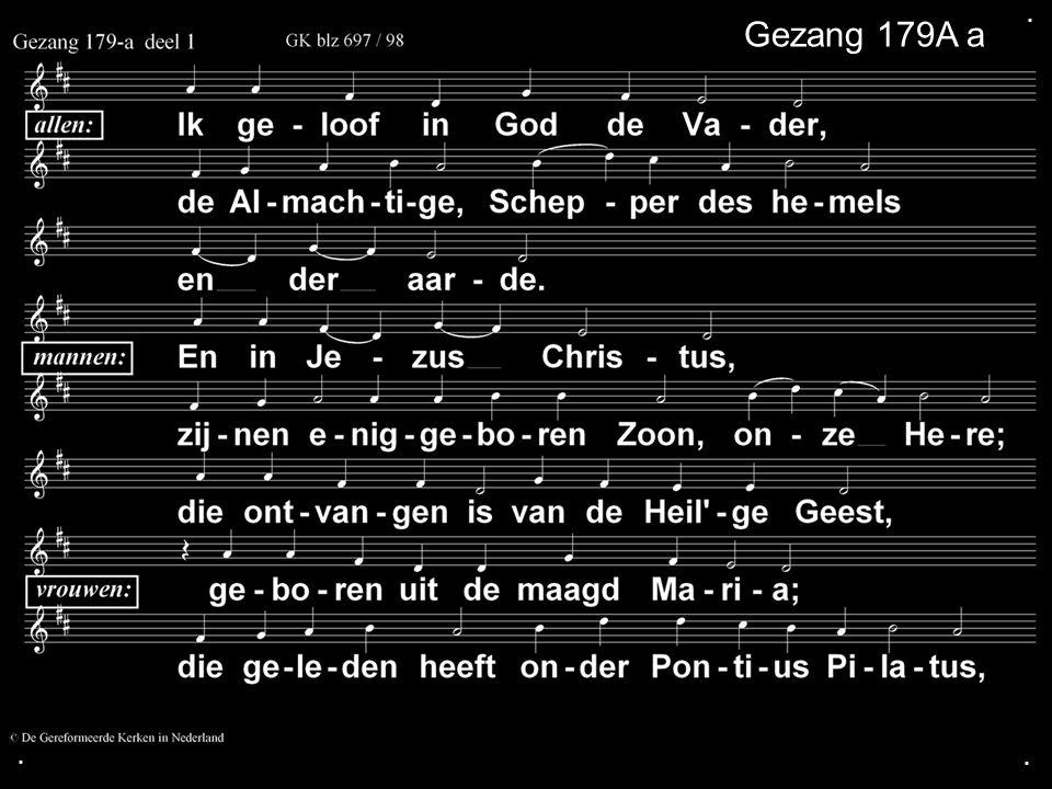 ... Gezang 179A a