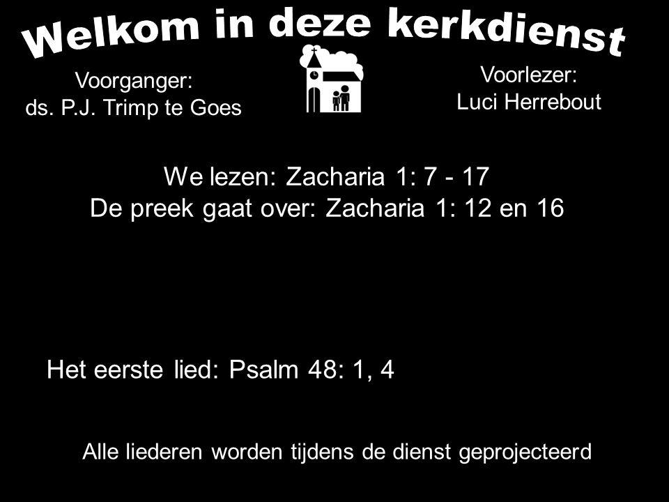 1.de noodkreet van het moedeloze Sion (vers 12) de toestand in de wereld: vrede en rust.