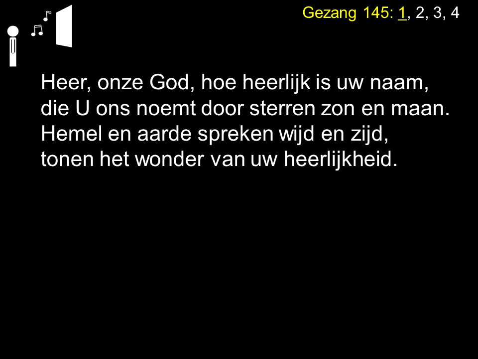 Tekst: Spreuken 15: 17 Zingen: Liedboek 473: 1, 2, 7, 9,10 ……….