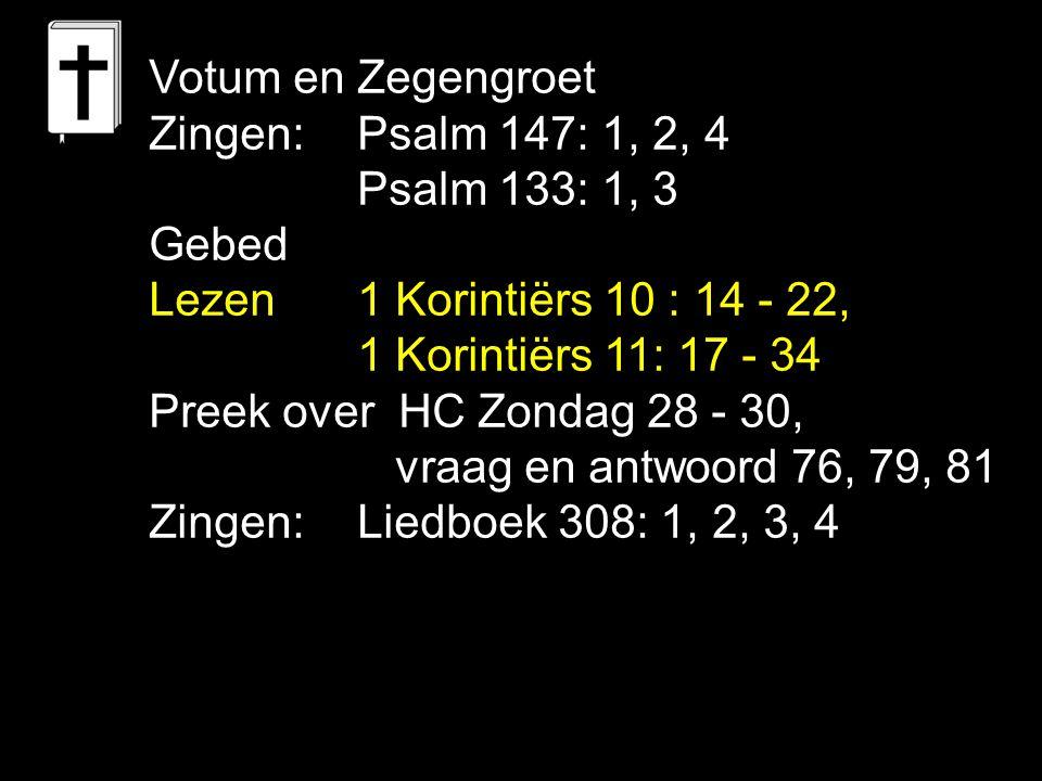 Liedboek 319: 1, 2, 3, 4, 5 Looft God, Hij stuurt het schip der kerk, dat naar de morgen vaart.