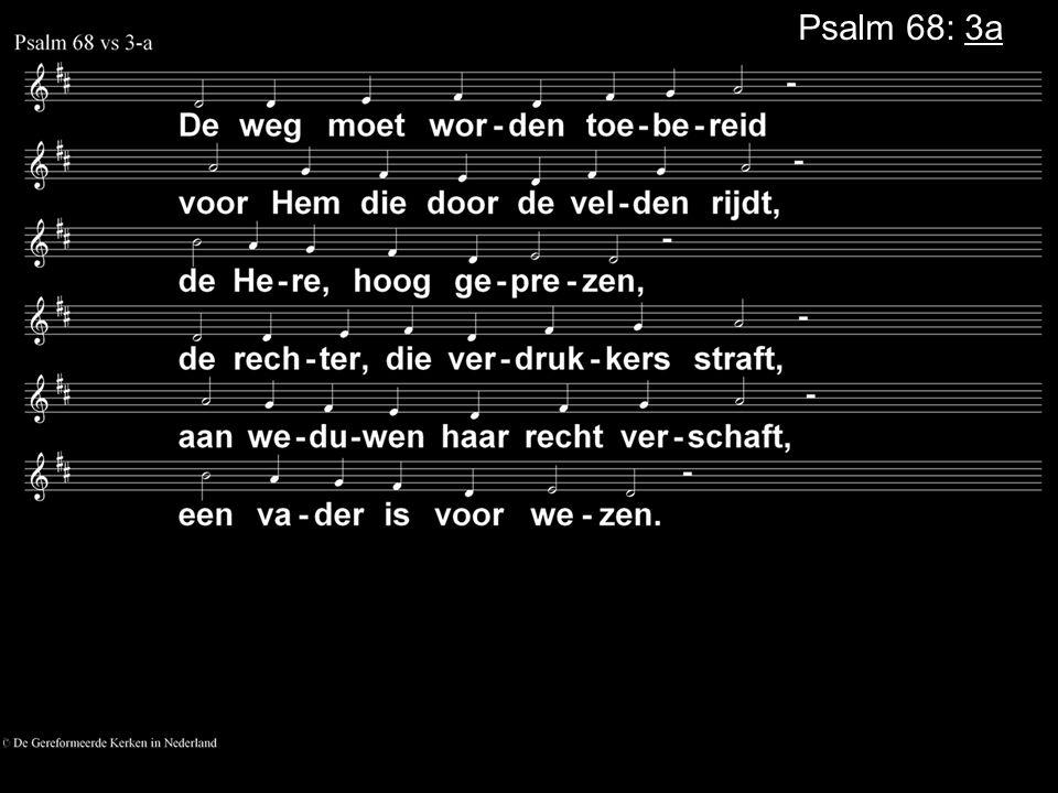 Psalm 68: 3a