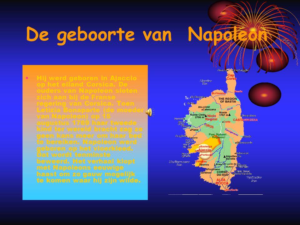 Napoleon is een hele belangrijke man als militair leider van het Franse leger. In die periode en is verder bekend door zijn heerschappij als vorst in
