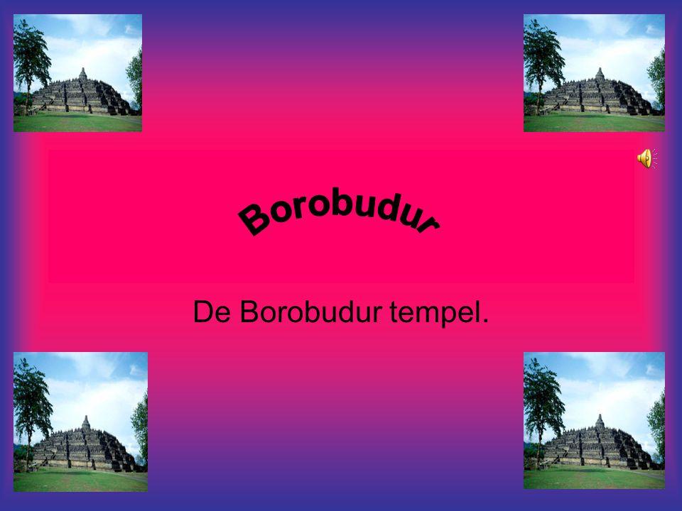 De Borobudur tempel.