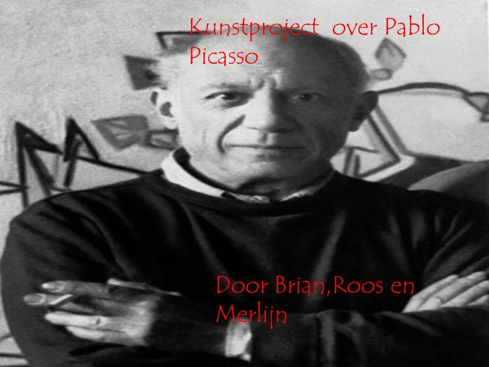 Kunstproject over Pablo Picasso Door Brian,Roos en Merlijn
