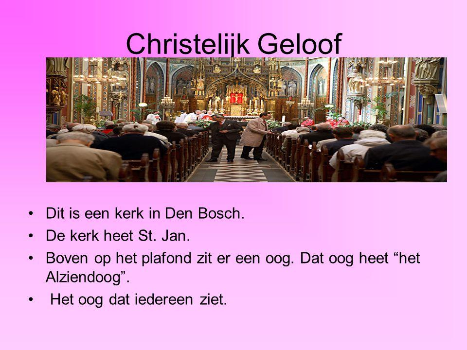 Christelijk Geloof Dit is een kerk in Den Bosch.De kerk heet St.