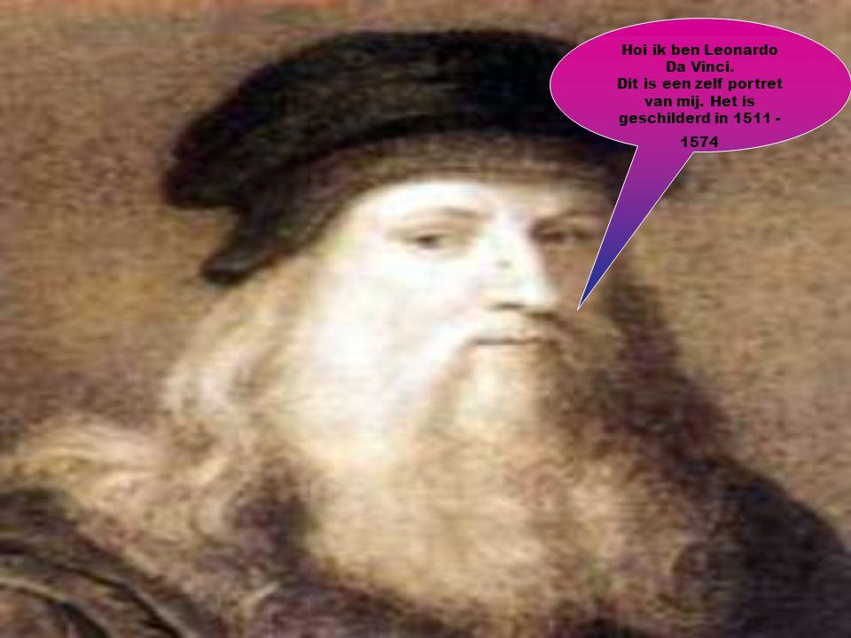 Dit schilderij is van Leonardo.Het schilderij is nooit gevonden.