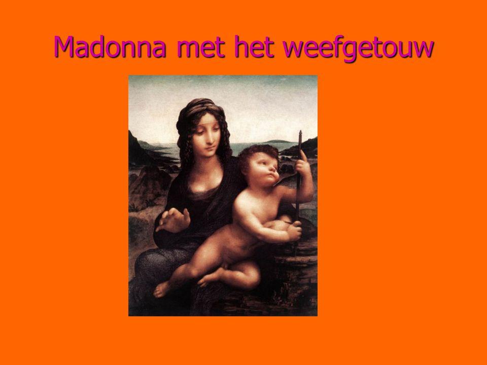 Madonna met het weefgetouw