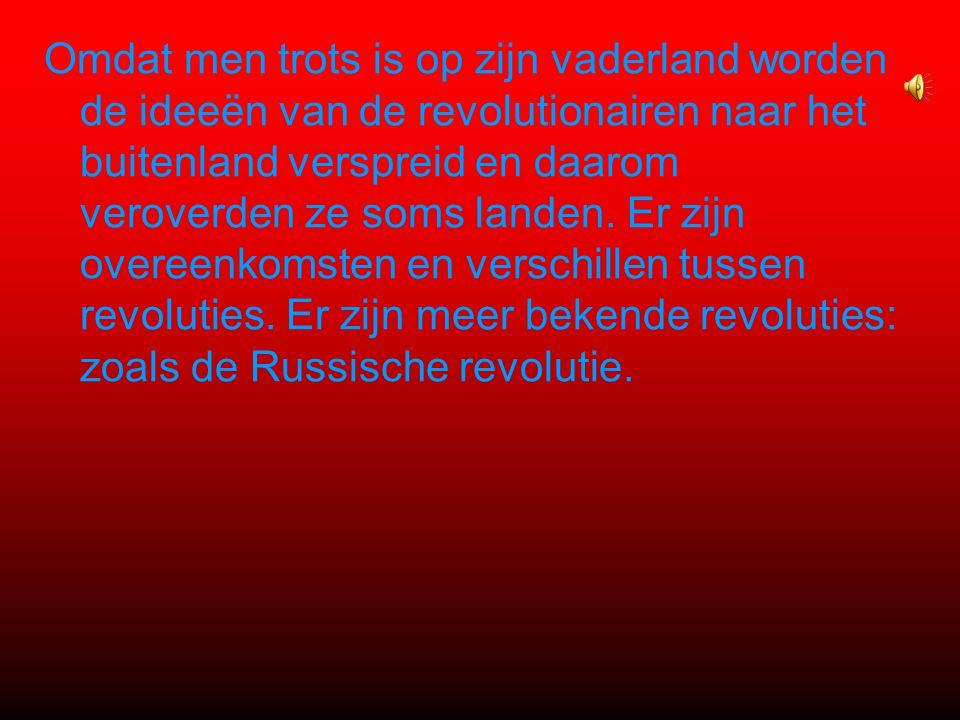3 de fase Door het geweld van de radicalen ontstaat chaos in het land.