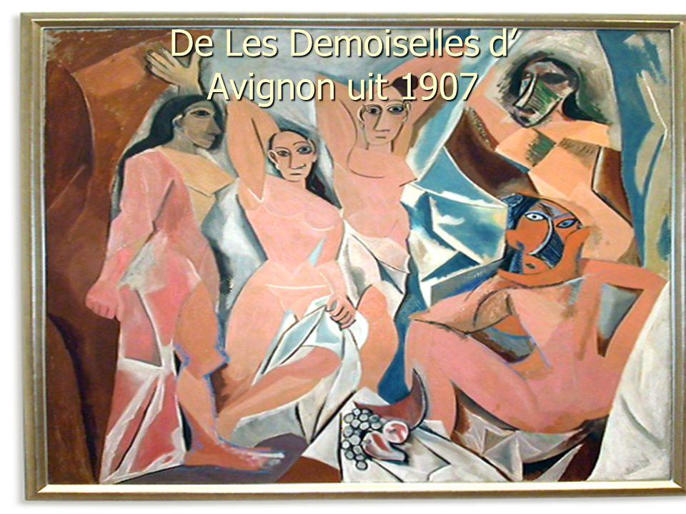 De Les Demoiselles d' Avignon uit 1907