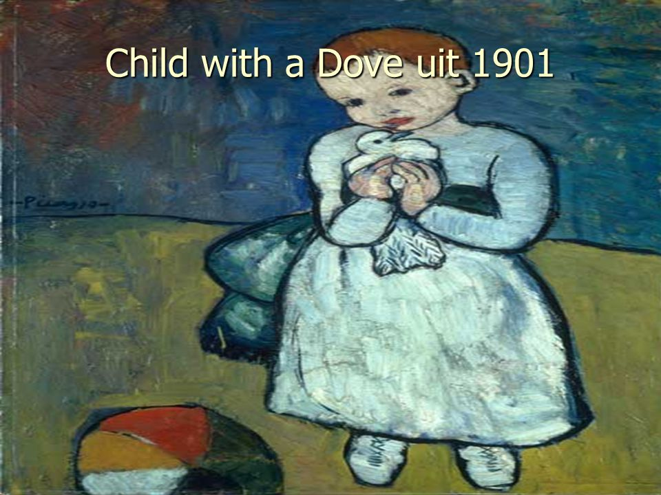Child with a Dove uit 1901