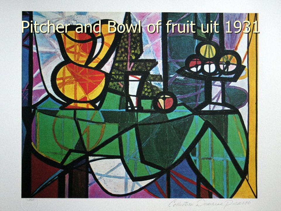 Bull Skull, Fruit, Pitcher uit 1939