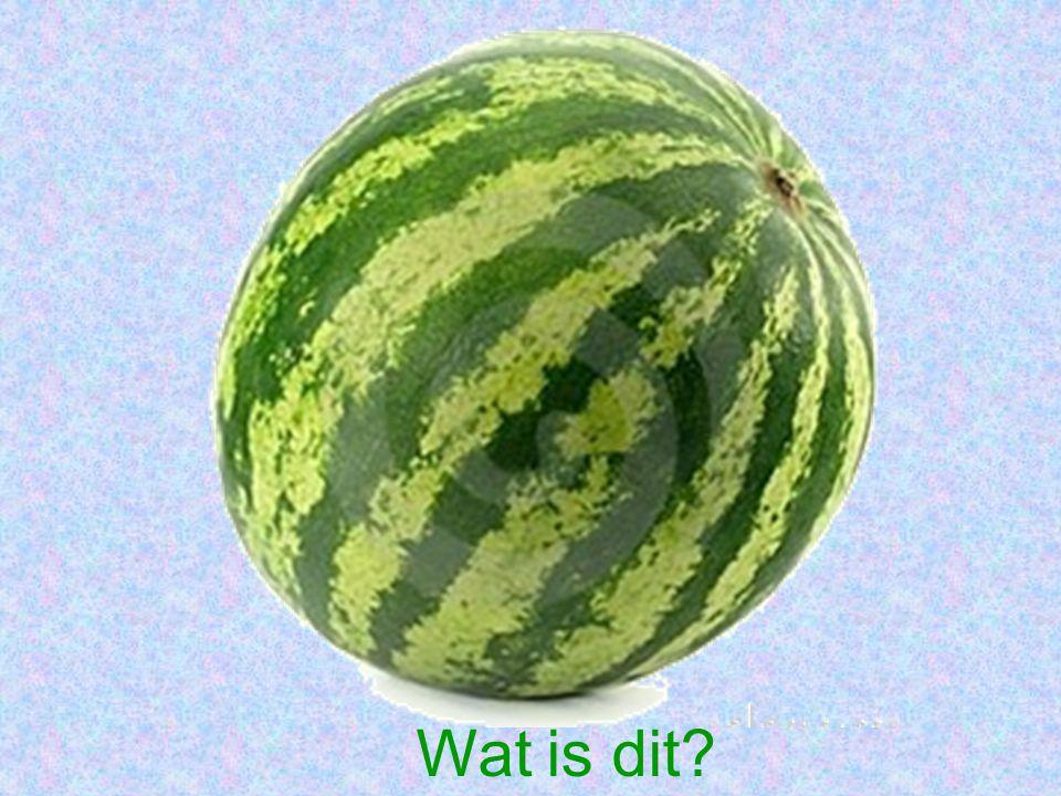 Wat is dit?