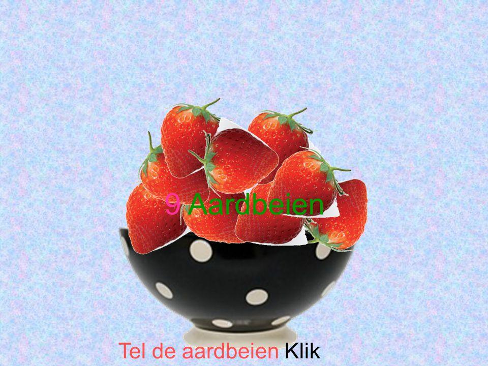 Tel de aardbeien Klik 9 Aardbeien