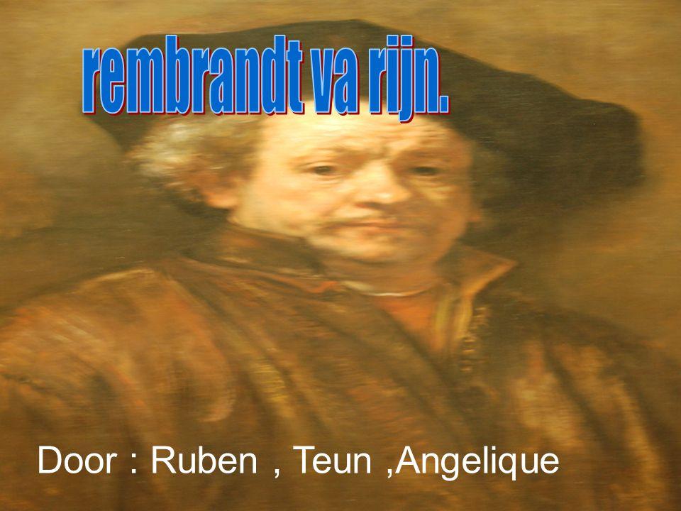 Door : Ruben, Teun,Angelique