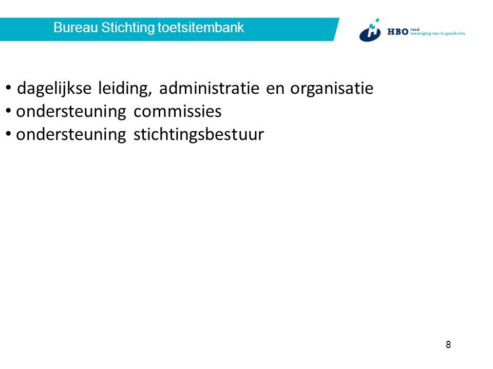Stichtingsbestuur bewaken doelstelling stichting toezien op zorgvuldigheid en doelmatigheid werkprocessen communicatie met stakeholders 9