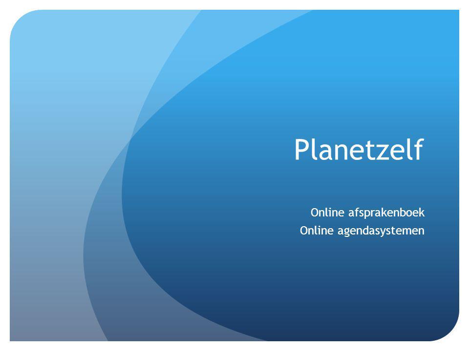 Voordelen : -24/7 bereikbaar -Minder telefoonverkeer -Optimale agendavulling -Omzetverhogend -Naar eigen smaak in te richten - Duidelijker overzicht van geplande afspraken