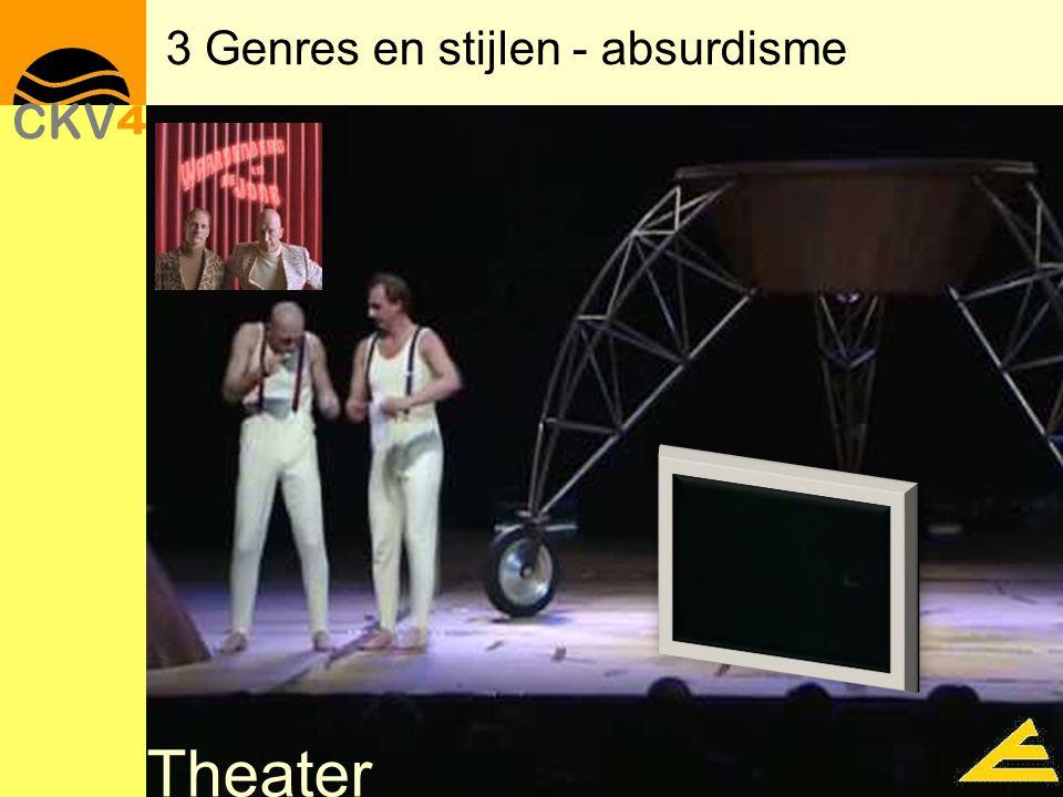 Theater 3 Genres en stijlen - absurdisme