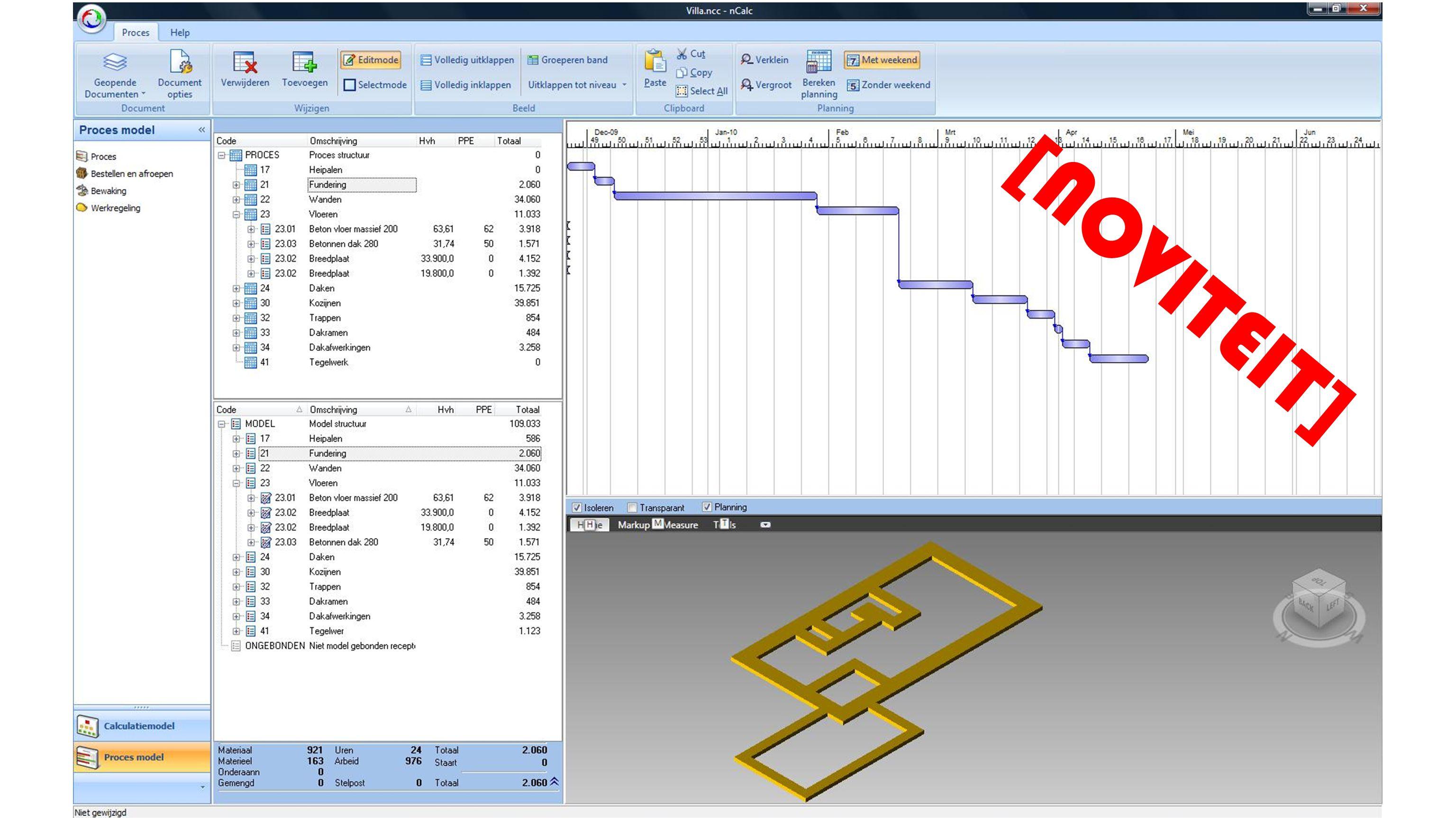 De conditiesystematiek volgens de NEN2767 is volledig opgenomen in de module Systematisch Onderhoud