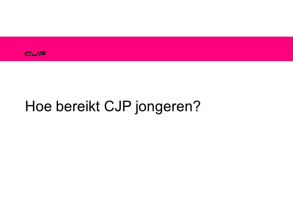 Hoe bereikt CJP jongeren?