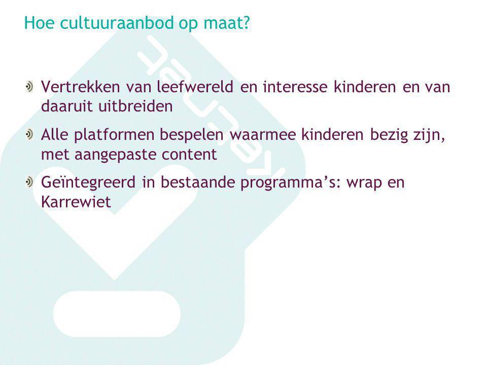 Samenwerkingsmogelijkheden ketnet Marketing: via Sibylle.debackere@vrt.beSibylle.debackere@vrt.be Strategisch: via catherine.castille@vrt.be of fran.devries@vrt.becatherine.castille@vrt.be fran.devries@vrt.be Redactionele ondersteuning: wrap/Karrewiet